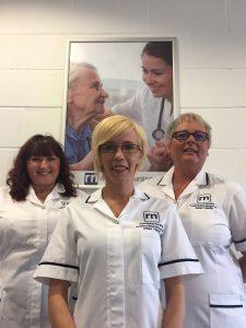 Occupational Health Team at Richmond Nursing