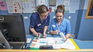 NHS 'haemorrhaging' nurses