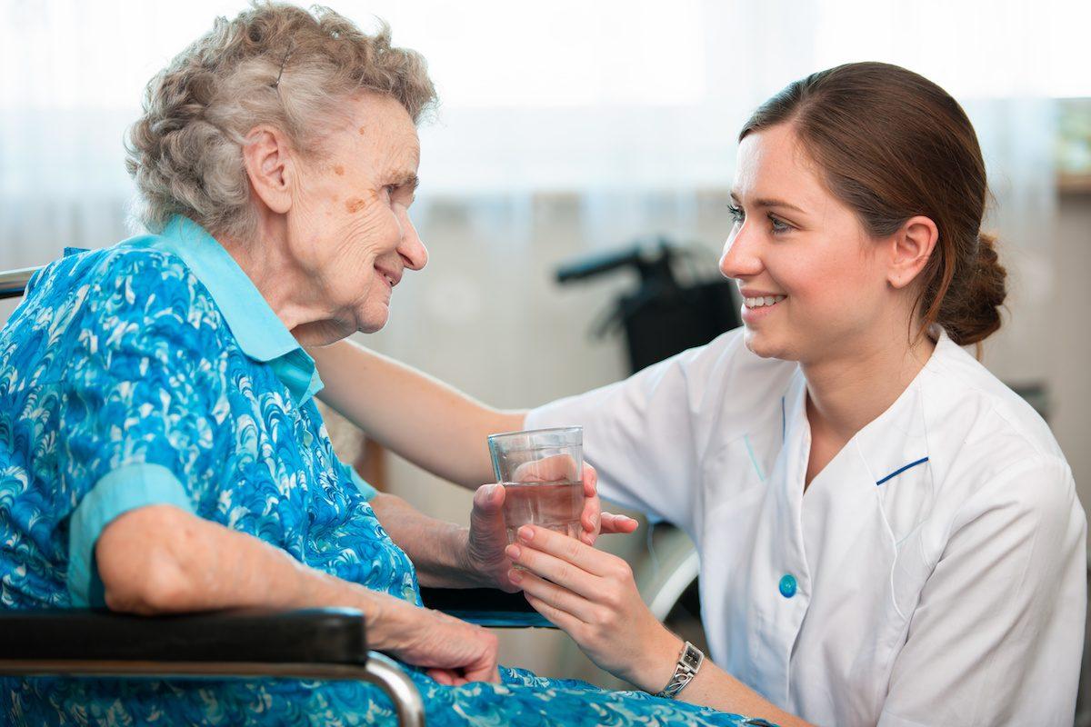 new Nursing and Care Home Desk