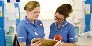 Nursing staff miss out on training amid NHS cuts