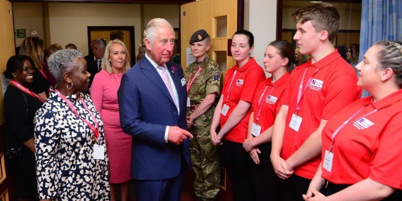 RCN and HRH the Prince of Wales launch new nursing cadet scheme